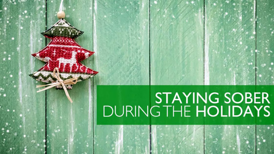 staying sober during the holidays